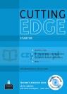 Cutting Edge Starter Teacher?s Resource Book +TMCDR v2 Sarah Cunningham, Peter Moor