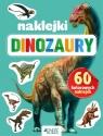 Dinozaury. 60 kolorowych naklejek