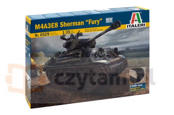 ITALERI M4A3E8 Sherman