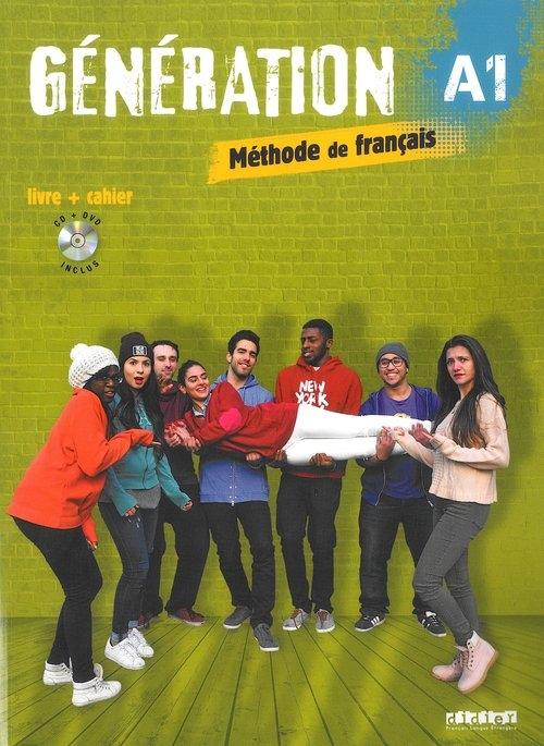 Generation A1 Podręcznik + CD mp3 + DVD Marie-Noëlle Cocton