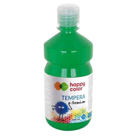Farba tempera 500 ml - zielony (305827)