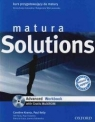 Matura Solutions Advanced LO Ćwiczenia. Język angielski Paul A. Davies, Tim Falla, Małgorzata Wieruszewska