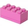 Lego, minipudełko klocek 8 - Różowe (40121739)