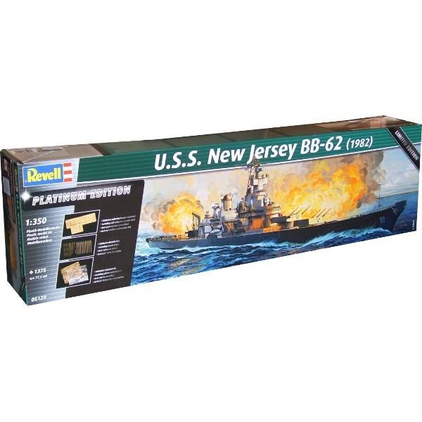 REVELL U.S.S. New Jersey BB-62 1982