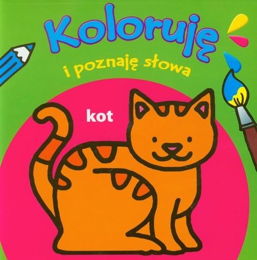 Koloruję i poznaję słowa Kot