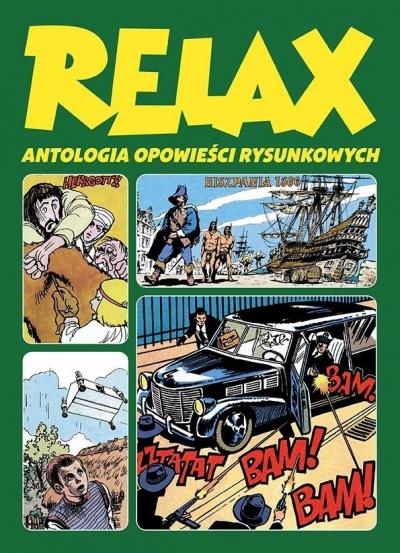 Relax. Antologia opowieści rysunkowych T.3 praca zbiorowa