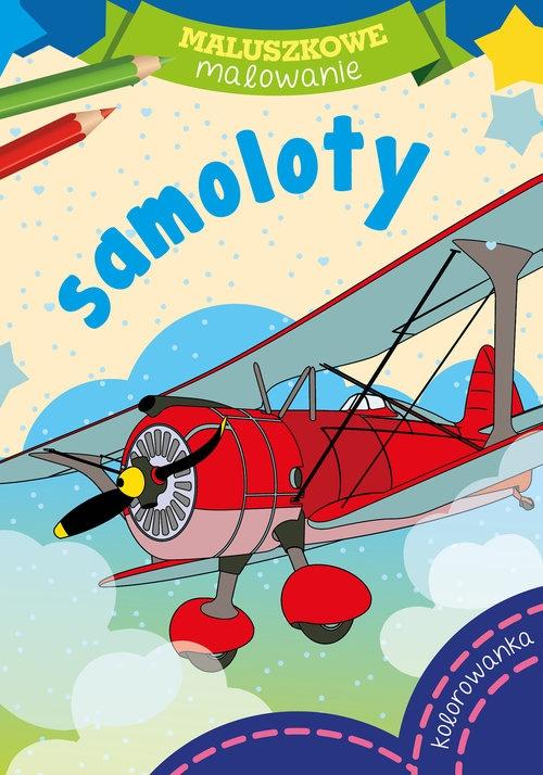 Maluszkowe malowanie - Samoloty