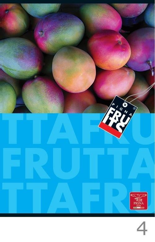 Zeszyt A4 w kratkę 42 kartki fruits