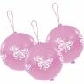 3 balony lateksowe do skakania - Motyle (INT995795)