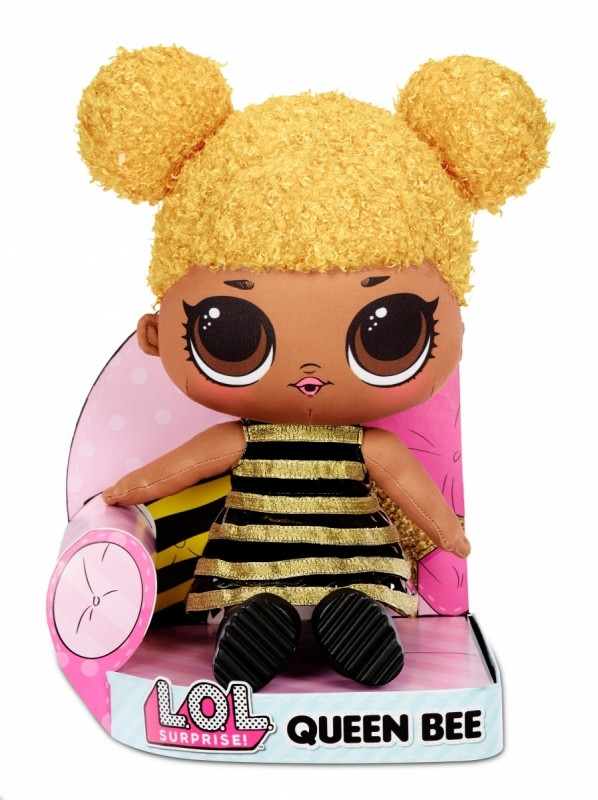 Laleczka maskotka L.O.L. Surprise Plusz, Queen Bee (571285E7C/571292)