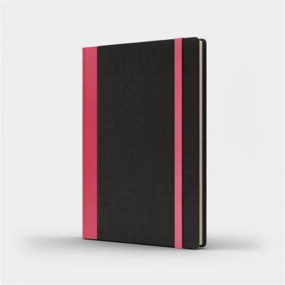 Notatnik A5 Pro M+ kratka czarny/różowy