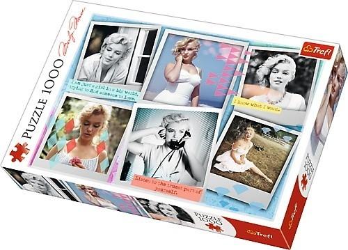 Puzzle 1000 elementów - Fotografie Marilyn Monroe (10529)