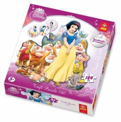Królewna Śnieżka - Puzzle Konturowe - 150 elementów (39029)