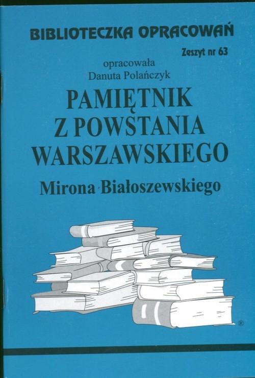 Biblioteczka Opracowań Pamiętnik z Powstania Warszawskiego Mirona Białoszewskiego