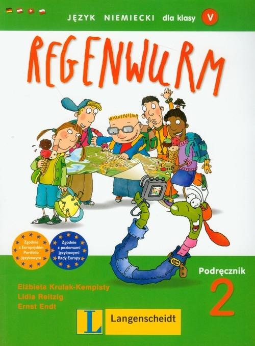 Regenwurm 2 podręcznikz płytą CD Krulak-Kempisty Elżbieta, Reitzig Lidia, Endt Ernst