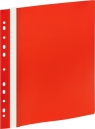 Skoroszyt A4 z europerforacją GR 505E czerwony 10 sztuk