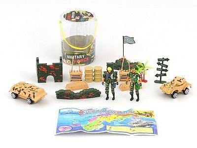 Figurka Adar zestaw żołnierzyków w tubie (464292)