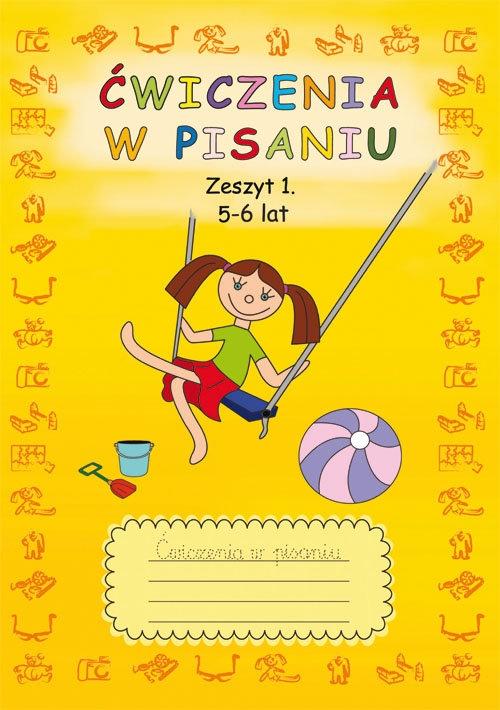 Ćwiczenia w pisaniu Zeszyt 1 5-6 lat Guzowska Beata