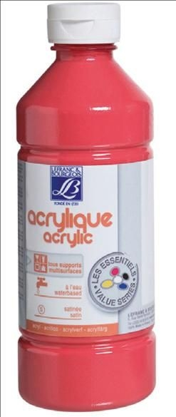 Farba akrylowa Lefranc&Bourgeois kolor: różowy 500 ml (188529)
