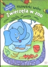 Malowanki wodne Zwierzęta w zoo