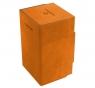 Ekskluzywne pudełko Watchtower Convertible na 100+ kart - Pomarańczowe (08292)