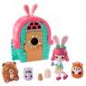 Enchantimals: Domek Bree Bunny + zwierzaczki niespodzianki (GTM46/GTM47)