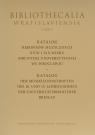 Katalog rękopisów muzycznych XVIII-XIX wieku Biblioteki Uniwersyteckiej we Wrocławiu ze zbiorów wroc