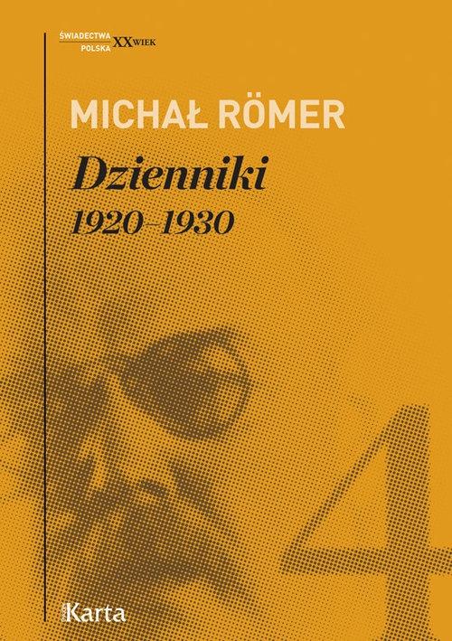 Dzienniki Tom 4 1920-1930 Romer Michał