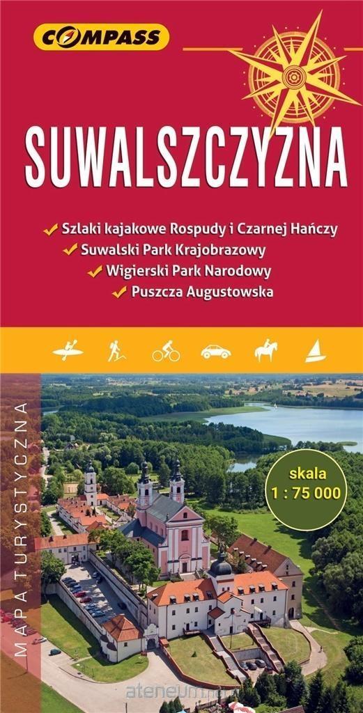 Mapa turystyczna - Suwalszczyzna 1:75 000 praca zbiorowa