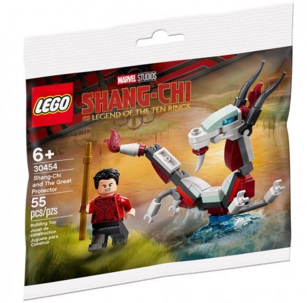 Klocki Super Heroes 30454 Shang-Chi i Wielki Obrońca (30454)