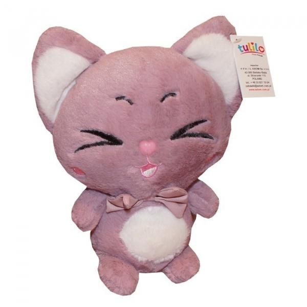 Kotek Mimi bordowy 22 cm (4810c)