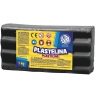 Plastelina Astra, 1 kg - czarna (303111024)