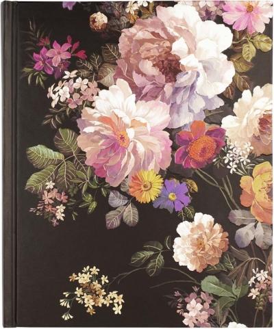 Notatnik duży Kwiaty o Północy