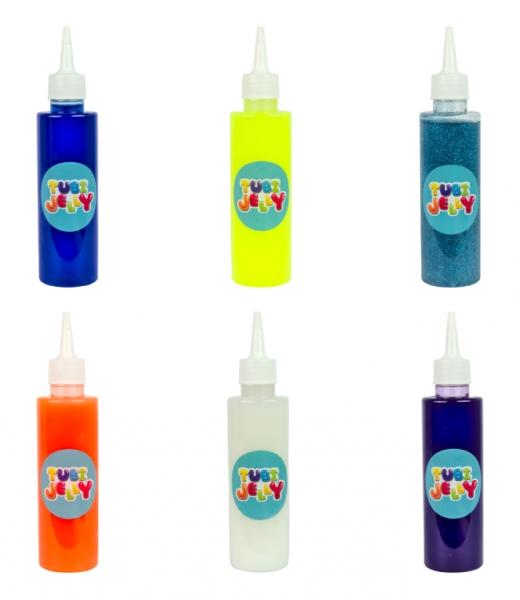 Zestaw Tubi Jelly 6 kolorów + małe akwarium – Potworki (TU3329)