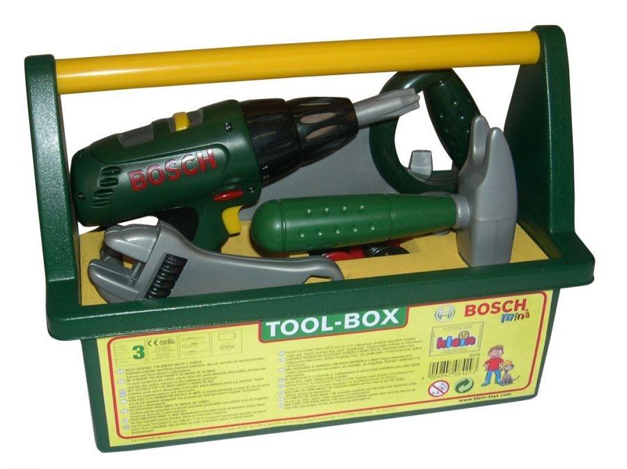 Klein, Skrzynka z wkrętarką i narzędziami Bosch (Klein 8429)
