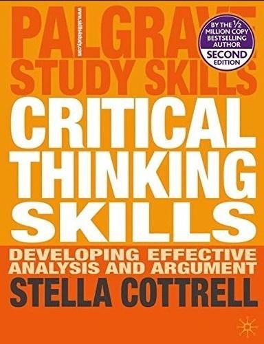 Critical Thinking Skills Stella Cottrell