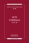 Acta Synodalia od 553 do 600 roku Synodi et collectiones legum, vol. XII Pietras Henryk