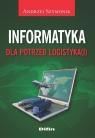 Informatyka dla potrzeb logistyka(i)  Szymonik Andrzej