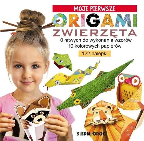 Moje pierwsze origami - Zwierzęta Grabowska-Piątek Marcelina