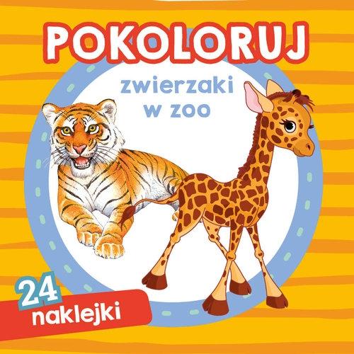 Pokoloruj zwierzaki w zoo