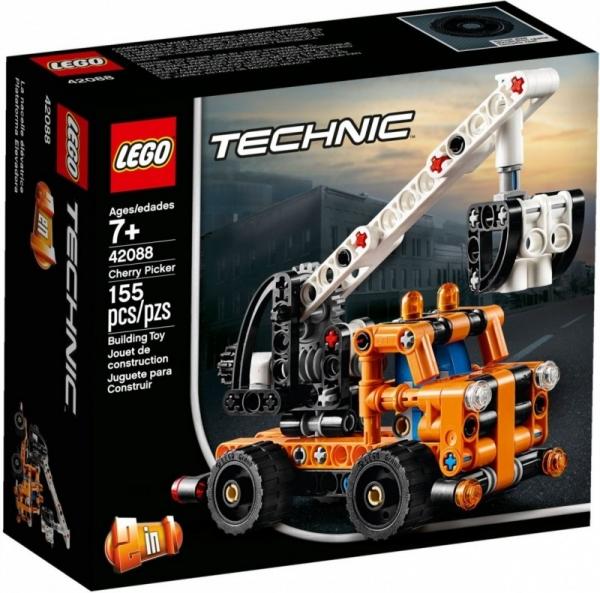 Klocki Technic Ciężarówka z wysięgnikiem (42088)