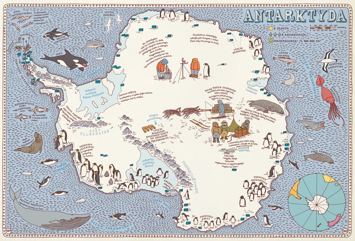 Mapy Mizielińska Aleksandra, Mizieliński Daniel