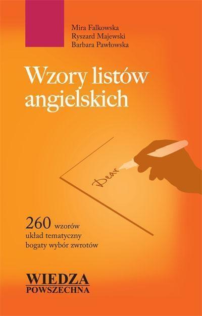 WP Wzory Listów Angielskich Mira Falkowska, Ryszard Majewski, Barbara Pawłowska