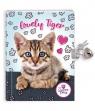 Pamiętnik z kłódką The Sweet Pets Kot