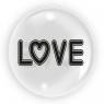 "Balon 45 cm - ""Love"" (TB 3629)"