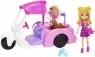 Polly Pocket: Mobilny salonik pielęgnacji zwierzaków z lalką