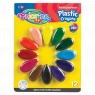 Kredki świecowe plastikowe Płatki Colorino kids 12 kolorów