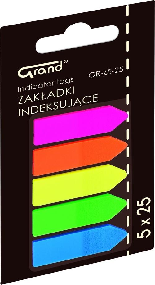 Zakładki indeksujące Grand Flagi GR-Z5-25 12 sztuk (150-1417)