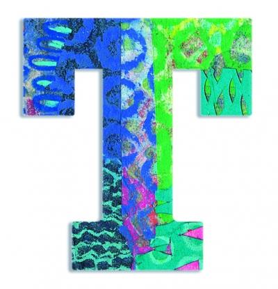 T - literka Paw do przyklejenia (DD04829)
