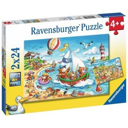 Puzzle 2x24: Urlop nad morzem (078295)